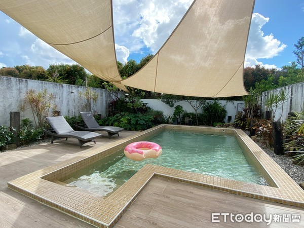 露天私人泳池!墾丁隱藏版峇里島風質感包棟Villa 8間不同主題   E