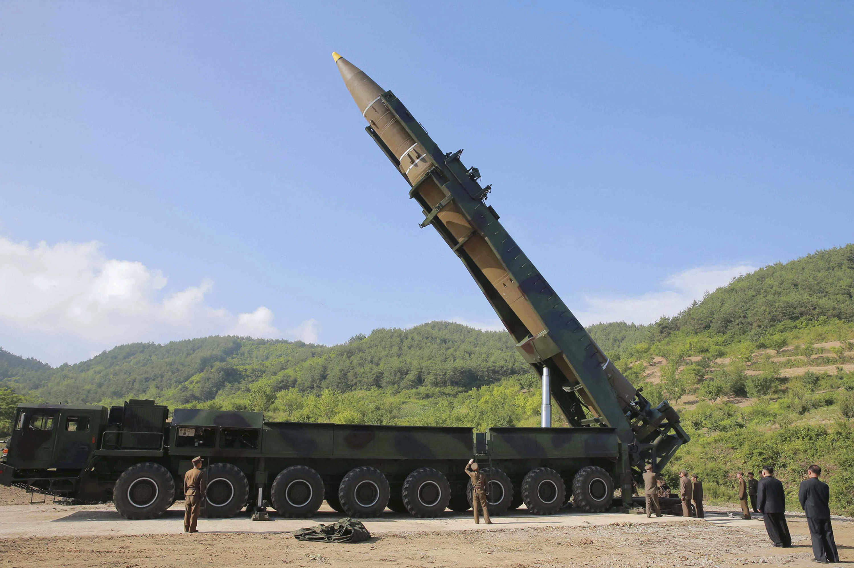 ▲▼北韓被發現有更大型的洲際彈道飛彈與移動發射台。(資料照/達志影像/美聯社)