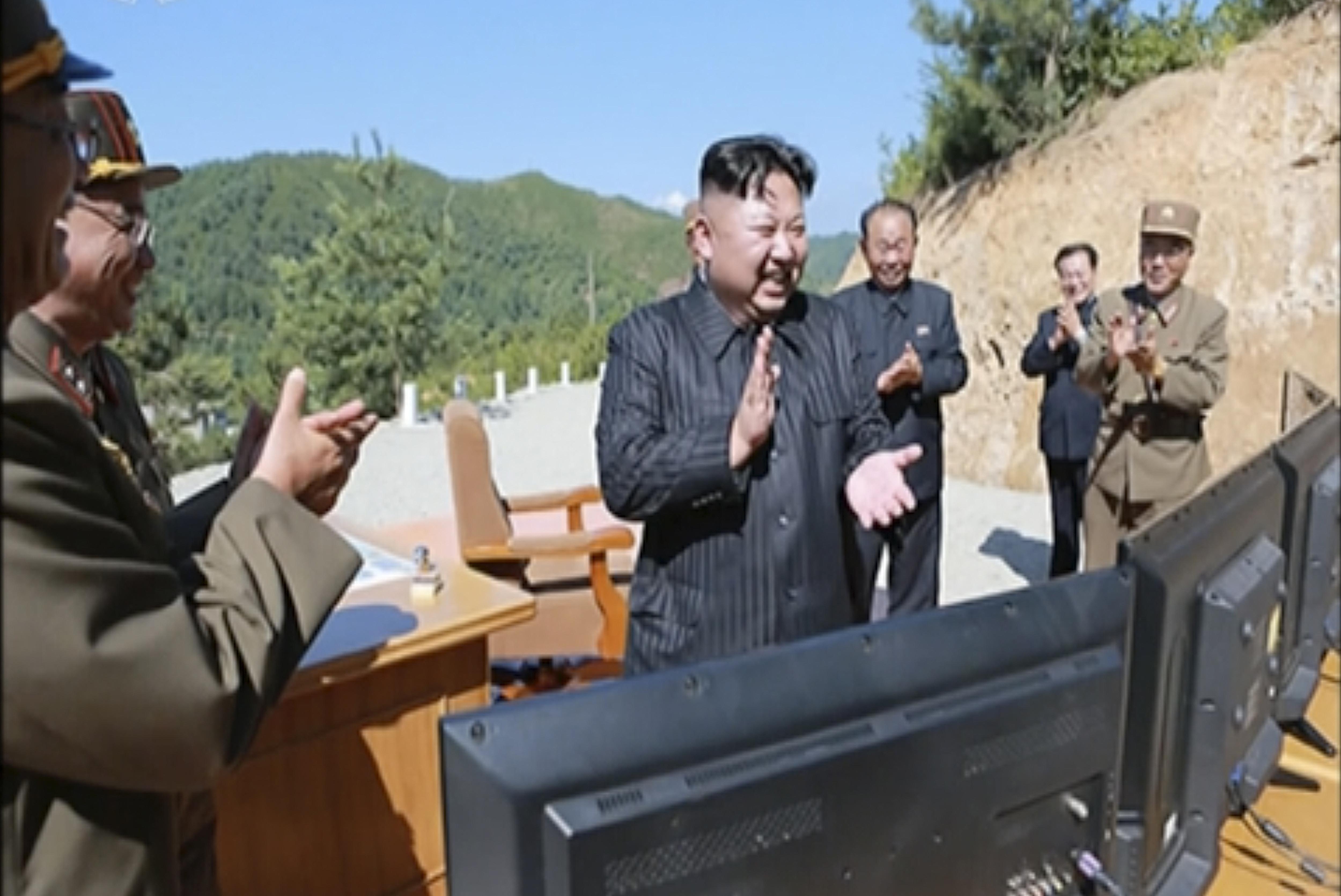 ▲▼北韓最高領導人過去曾提及,已研發更新型的戰略武器。(資料照/達志影像/美聯社)