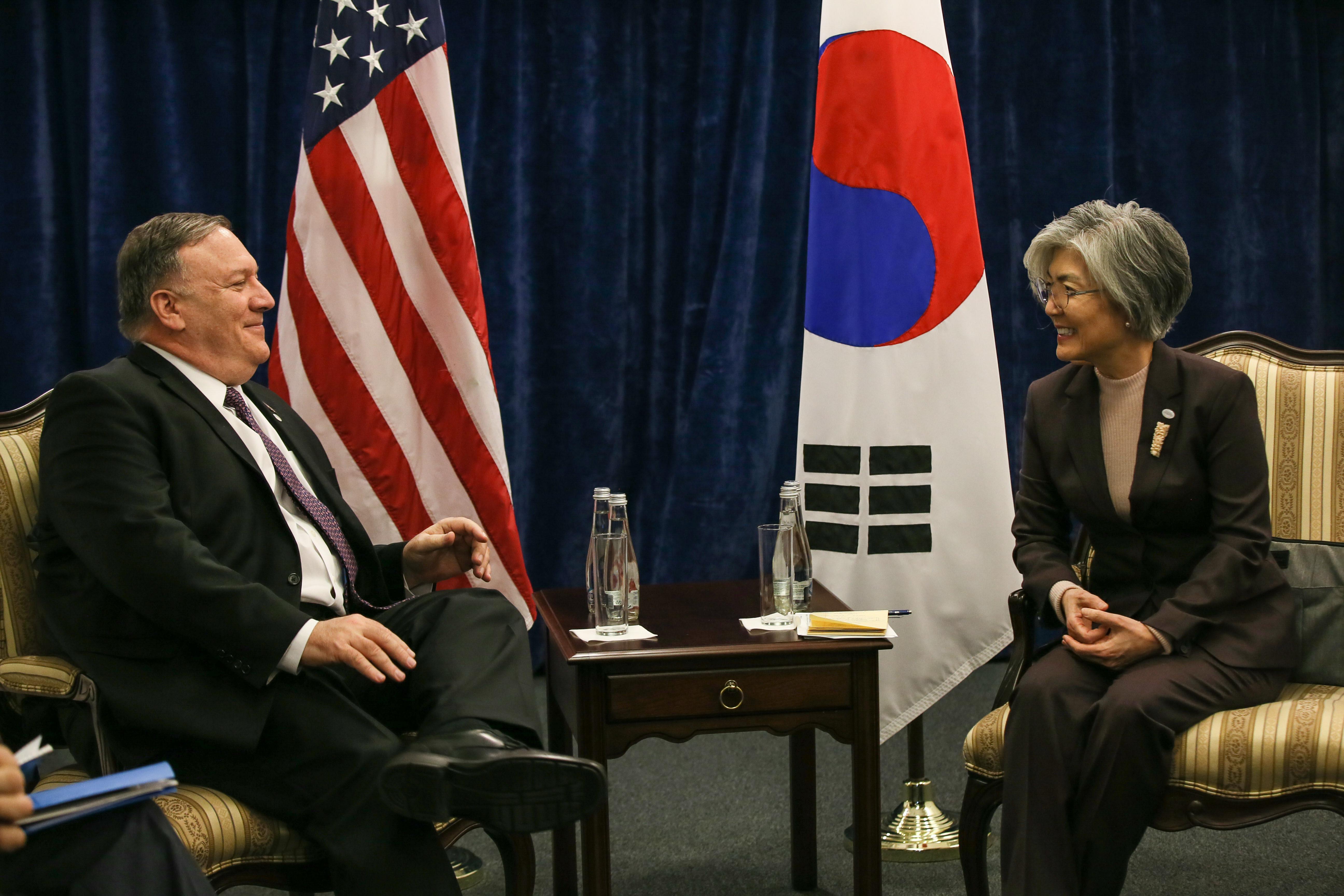 ▲▼美國務卿蓬佩奧刪去訪韓行程,5日致電給南韓外長康京和。(資料照/達志影像)