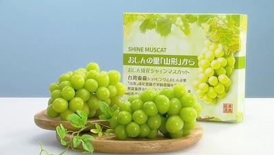東森農場首度跨國開賣 直採直送限量契作日本麝香葡萄