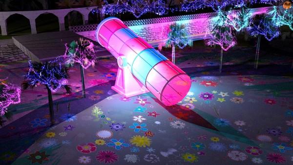 花蓮秋天最美燈海!「太平洋靚彩節」有全台最大望遠鏡、夢幻玫瑰燈海