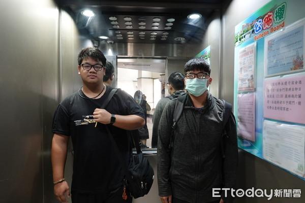 吳鳳科大學生宿舍智慧聲控電梯 面板「零接觸」防疫新利器