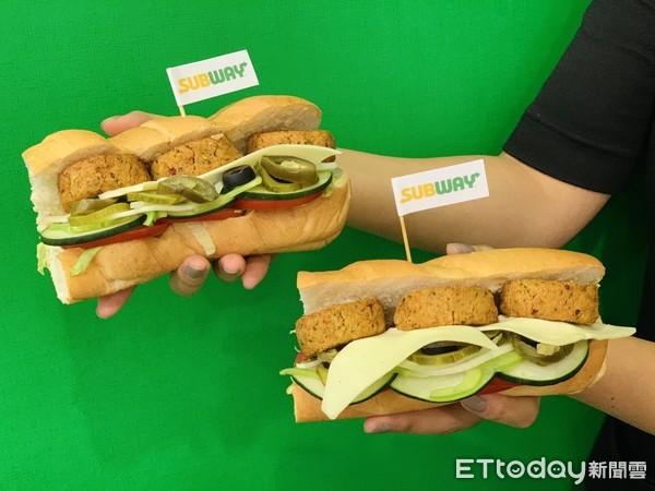 素食也能吃!SUBWAY全新「蔬菜球堡」來了 鷹嘴豆泥尬各式辛香料香炸