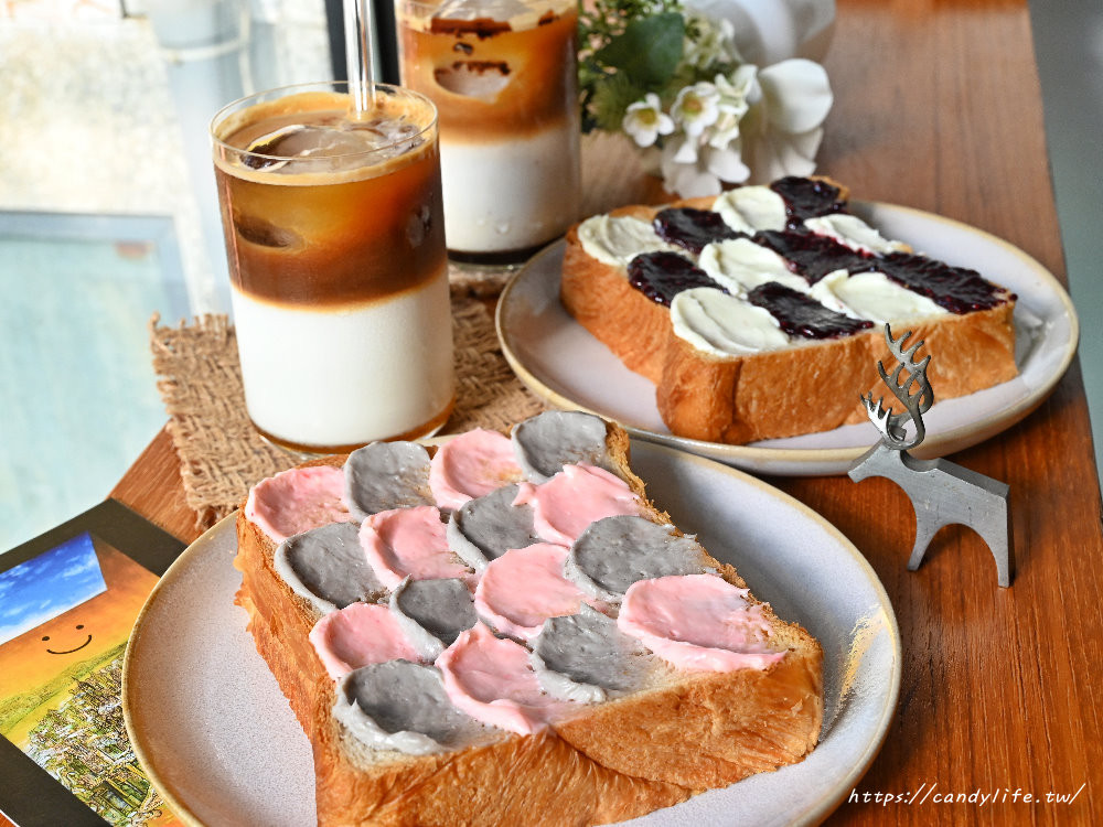 美到捨不得吃!超療癒「油畫吐司」隱身台中巷弄 必吃草莓、巧克力乳酪款