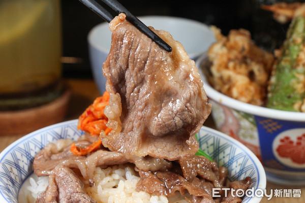 一次吃到天丼、和牛丼 金子半之助聯名老乾杯推日本和牛雙饗丼
