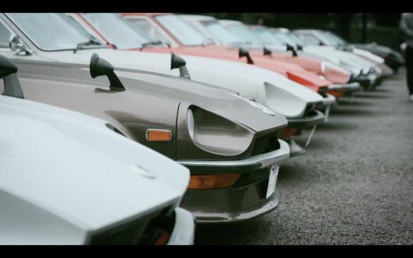Nissan Z Proto首度实车对外亮相Z家族车聚先向前辈们拜码头