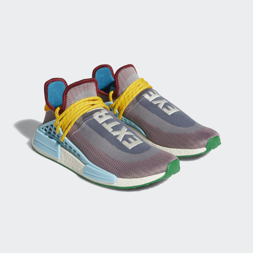 ▲▼PHARRELL WILLIAMS X ADIDAS ORIGINALS:NMD Hu新系列EXTRA EYE。(圖/翻攝自adidas.com)