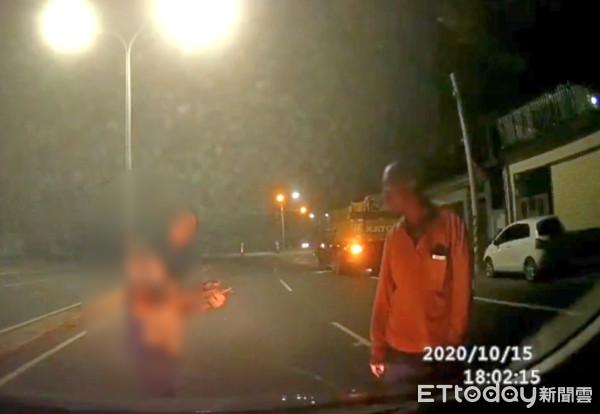 雲林吊車死神式左切險車禍 竟調侃受害女駕駛「我幫你收驚」