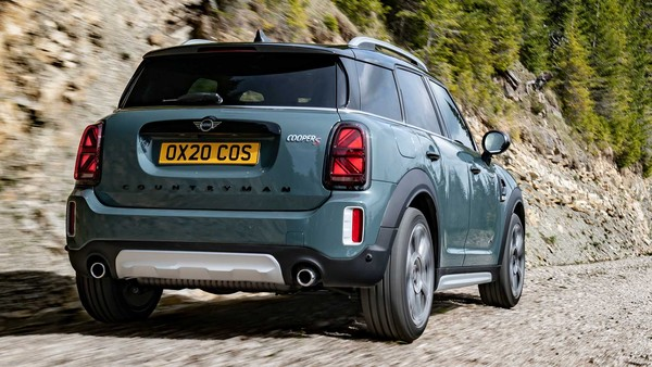 ▲2020 Mini Cooper S Countryman All4。(圖/翻攝自Mini)