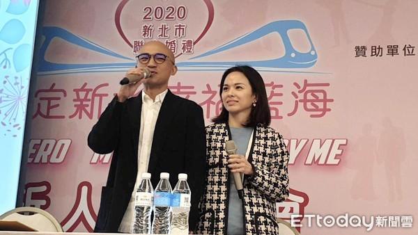 小馬幸福夫妻秘笈大公開 祝福新北聯合婚禮準100對新人