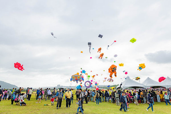 第三年桃園國際風箏節來了! 鄭文燦:研擬成立風箏訓練基地