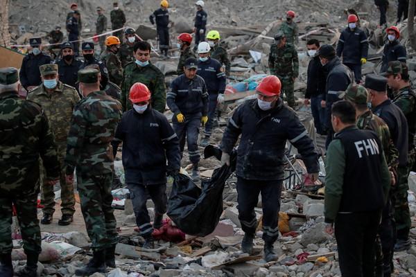 亞美尼亞和亞塞拜然同意宣布:18日起人道停火