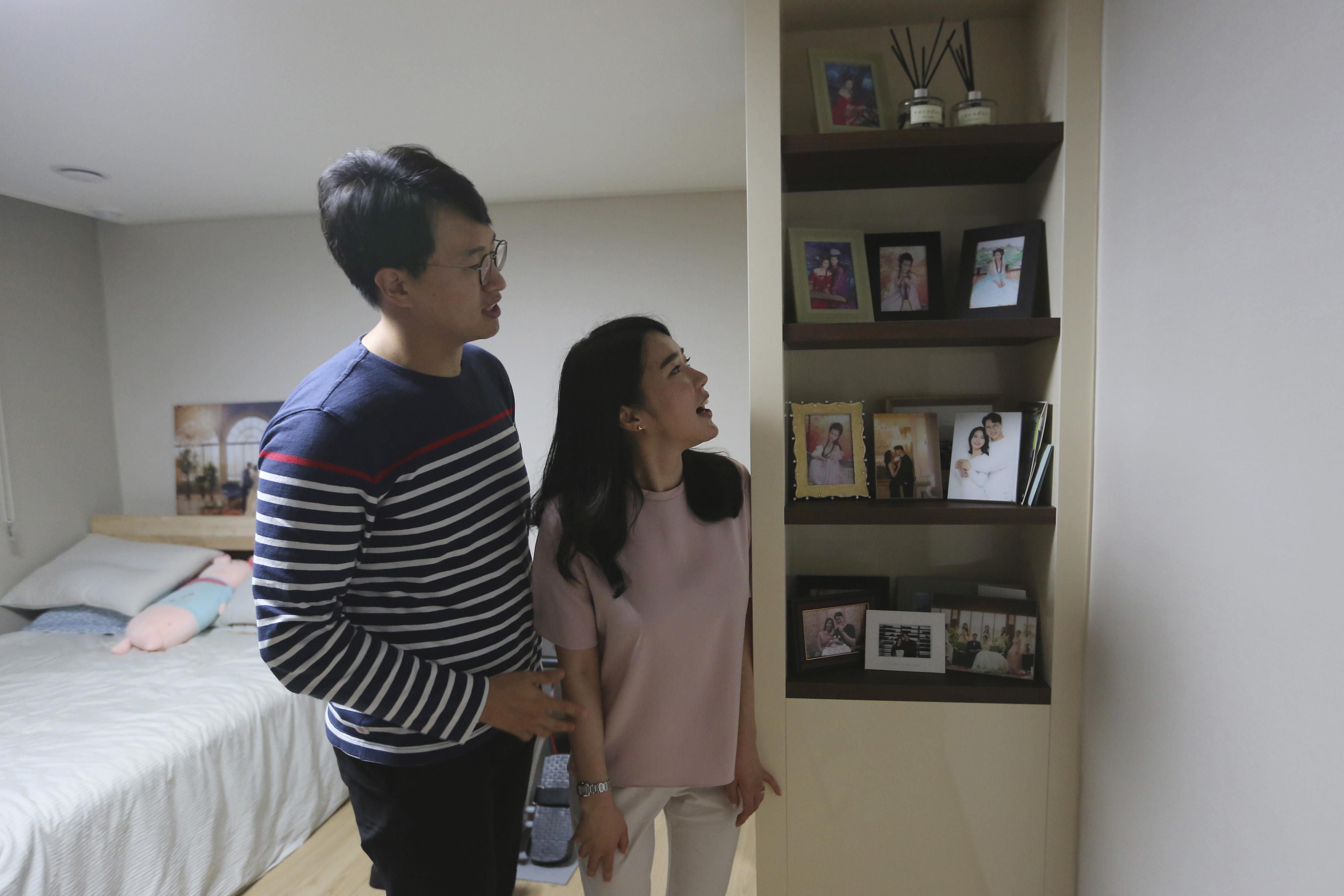 ▲▼首爾學區月租套房租金下跌;反觀二居、三居室房月租卻上漲10%。(示意圖/達志影像/美聯社)