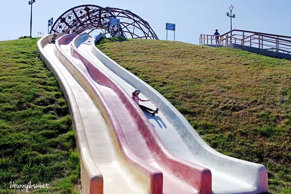 20米磨石子滑梯超刺激!八里全新兒童遊戲場 必玩滑索、滑草場 | ETt