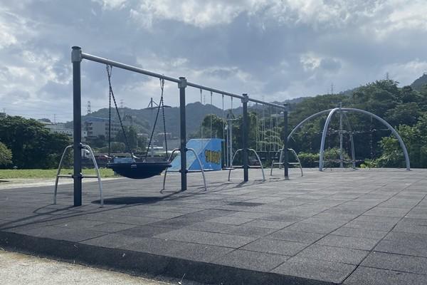 遛小孩新去處!「土城大清水運動公園」開放...未來規劃地景溜滑梯 | E