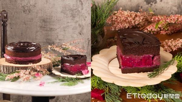 少女心噴!BAC打造夢幻「野莓維納斯」蛋糕 微兜喝得到植物奶咖啡 | E