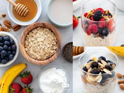 懶人、減肥都必學!5款高顏值「低卡燕麥早餐」1分鐘就搞定