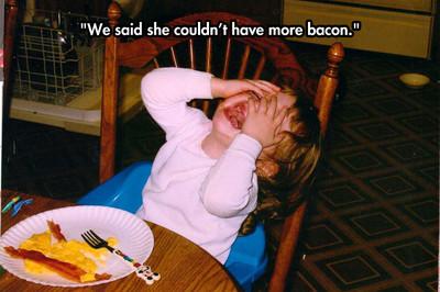 當小屁孩大哭時,背後總有很囧的理由