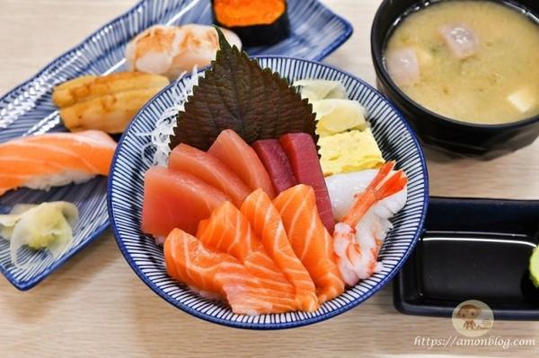 海鮮丼2百元有找!嘉義人氣日料 鮭魚肚壽司入口即化只要40元 | ETt