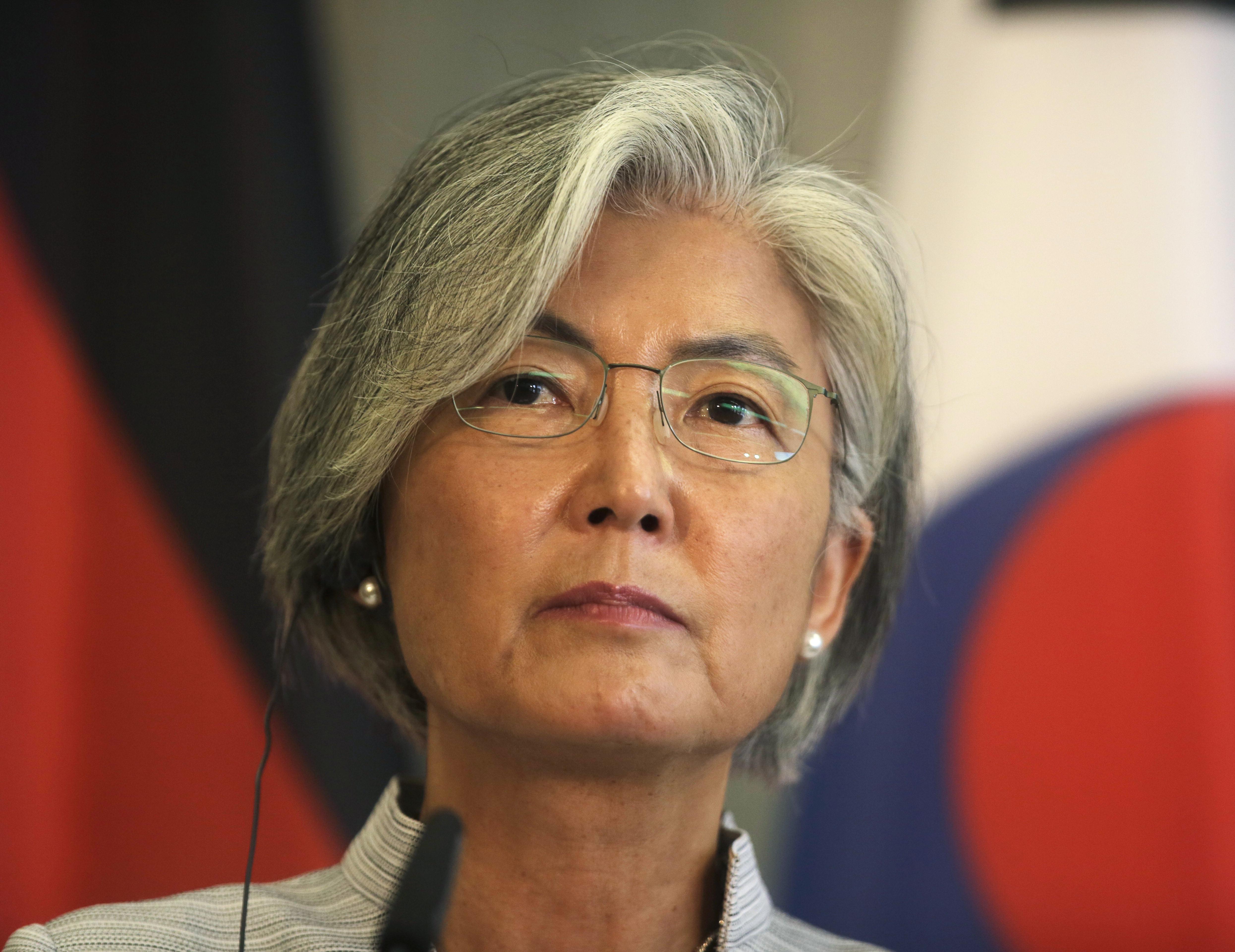 ▲▼南韓外長在與美國務卿蓬佩奧2次通話中,承諾近期內訪美。(圖/達志影像/美聯社)
