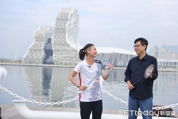 戴資穎來了!陳其邁任內首位旅遊大使出爐 打球品美食推廣高雄 | ETto