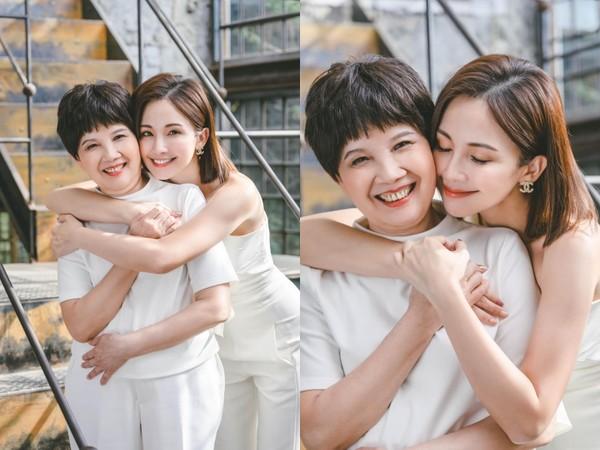 鍾欣怡媽抗癌16年「肺部檢出癌細胞」化療6次 母女緊抱:妳好美好堅強 |