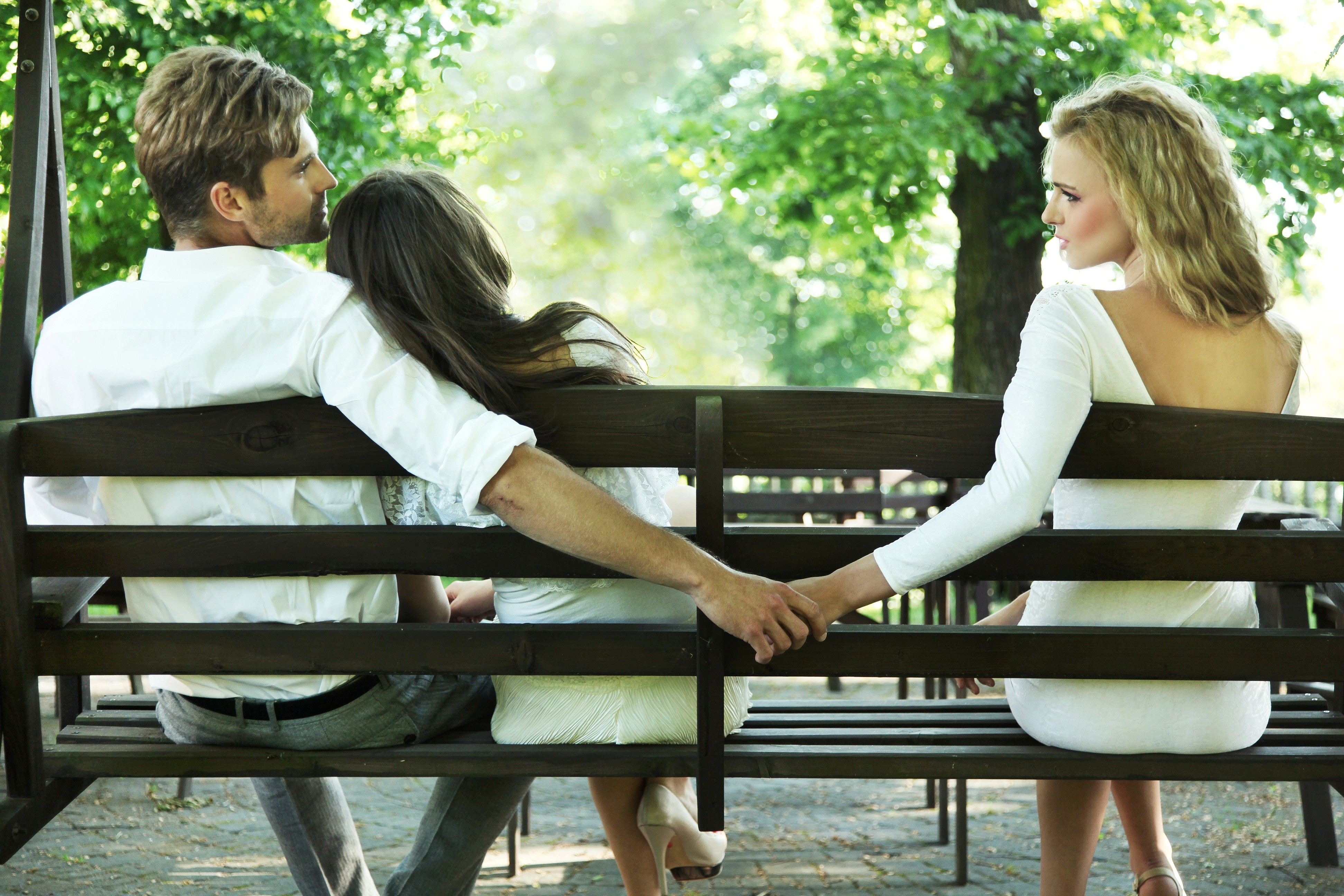 達志示意圖 示意圖 男女 兩性 小三 出軌 劈腿