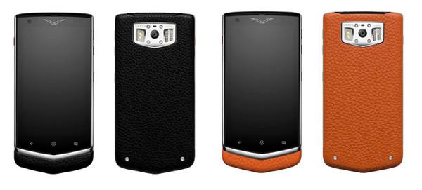 頂級奢華手機Vertu的戀人絮語機 讓情感不限時空傳遞