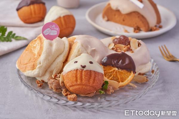 每日限量20份!罪惡「栗子舒芙蕾鬆餅」新登場 還吃得到同款戚風蛋糕 |