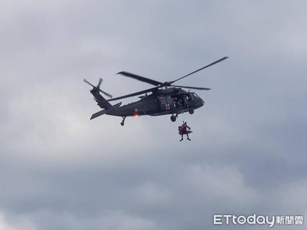 29歲飛官吊掛畫面曝光!台東F-5E戰機墜海…不敵死神英勇殉職