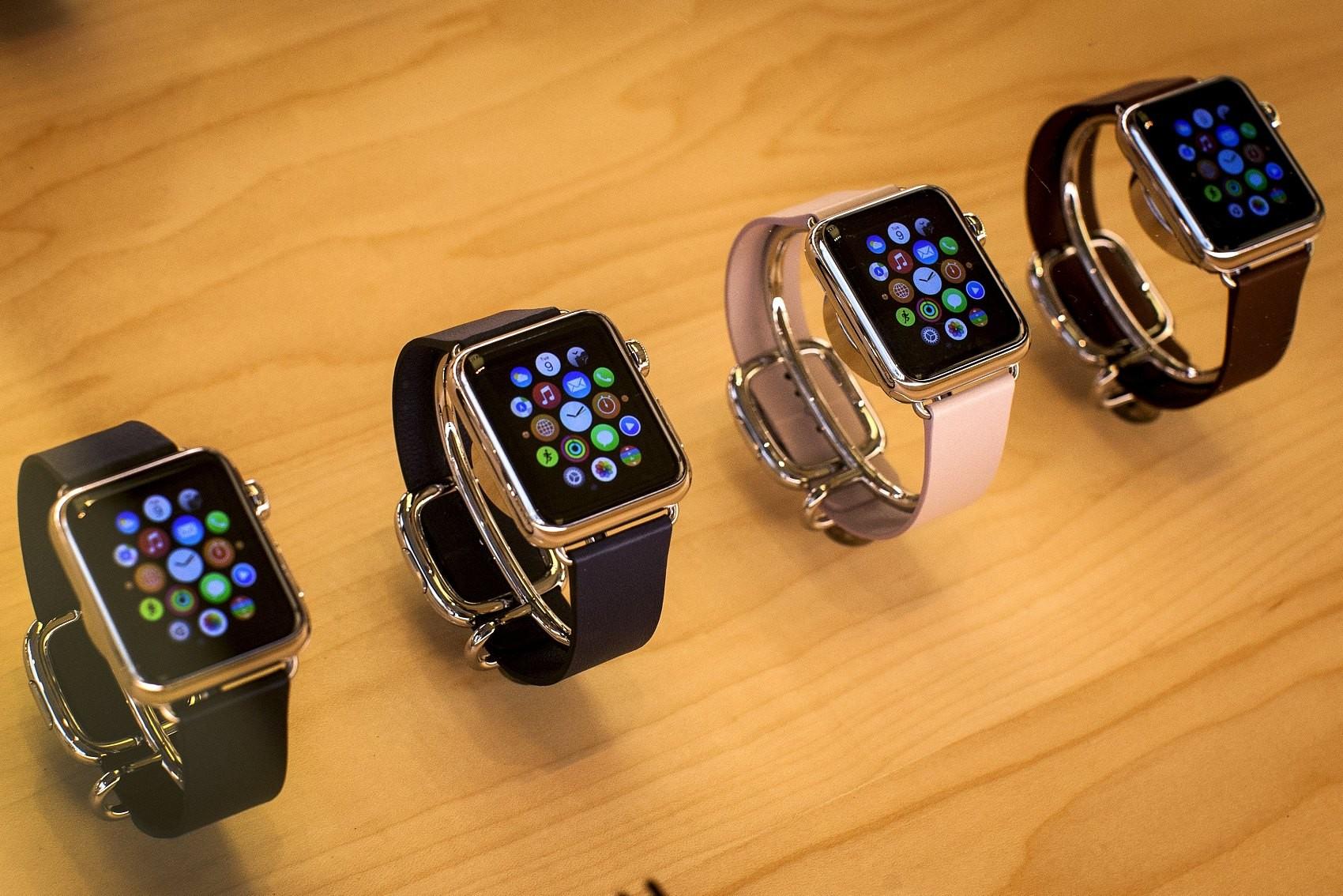 ▲▼蘋果,Apple Watch。(圖/視覺中國)