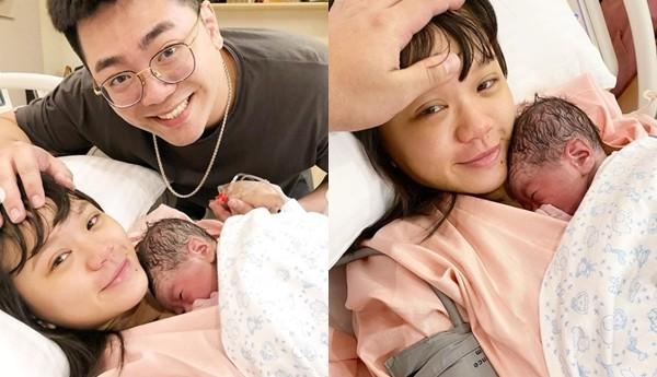 網紅陳彥婷平安生下寶寶! 曬一家3口合照甜喊:謝謝來當我們的寶貝
