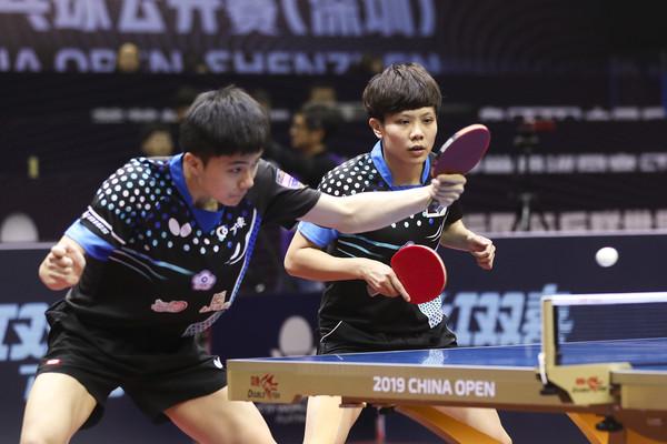 桌球最新世界排名 鄭怡靜、林昀儒混雙連兩週第一