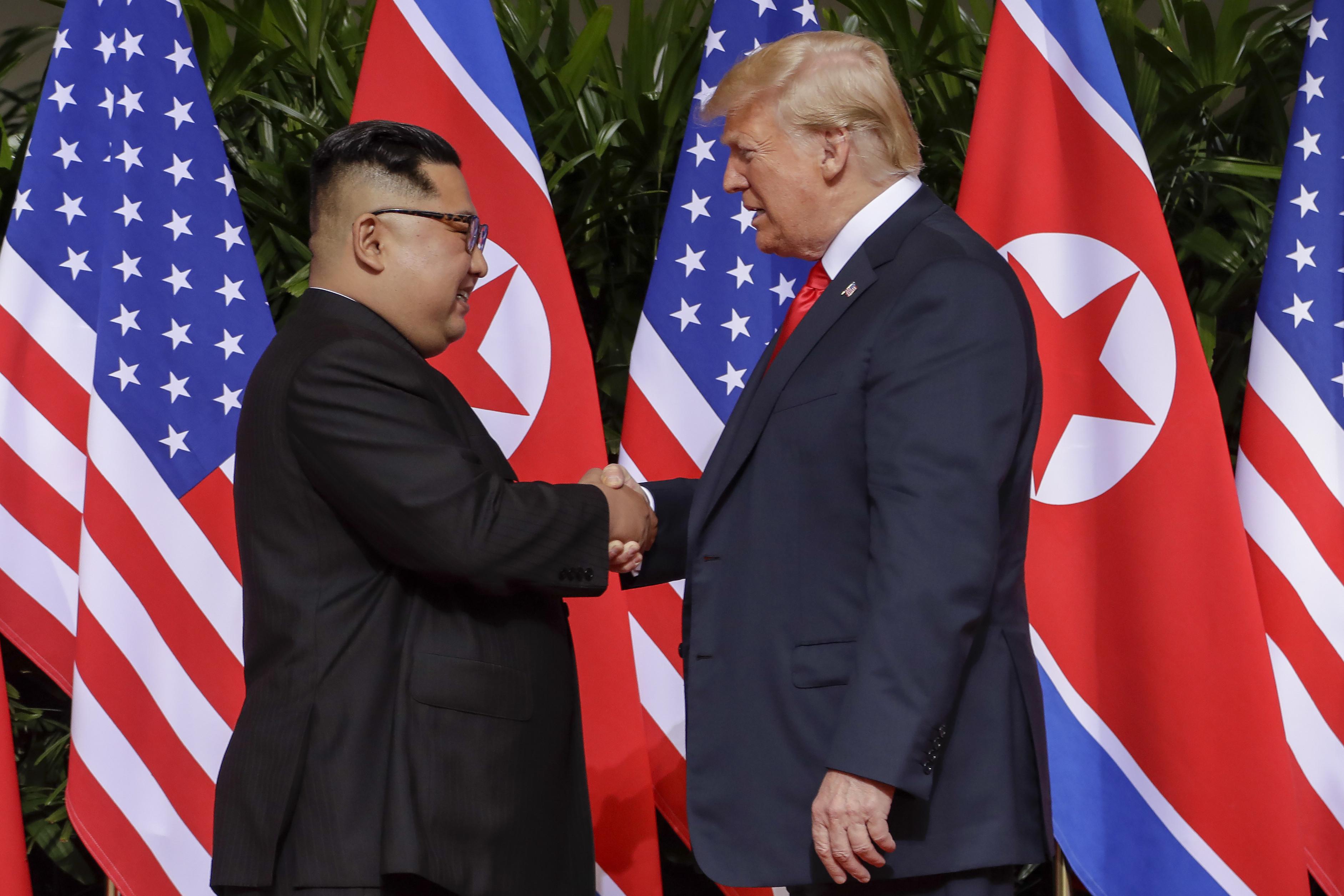 ▲▼彭佩奧指出,2018年川金會後,北韓就未曾進行核武試驗。(圖/達志影像/美聯社)