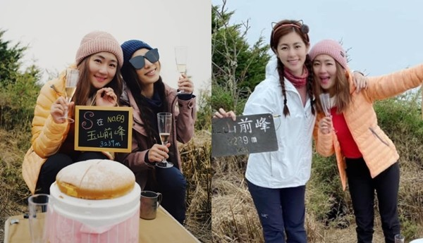Selina 39歲生日攻頂玉山! 「任容萱、Hebe全程陪伴」感動爆哭
