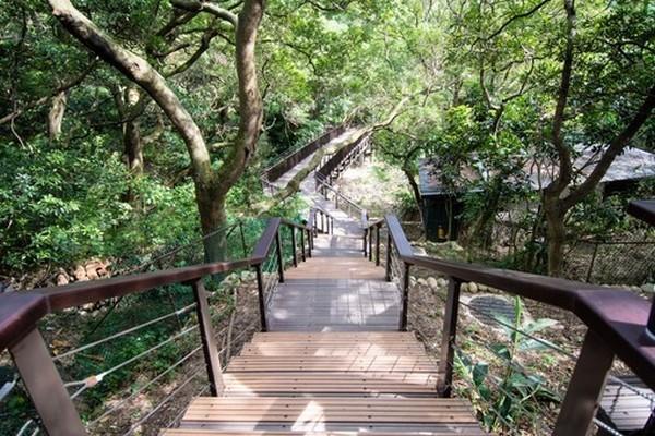 虎頭山遊憩綠廊正式啟用 三大系統6條生態步道全線開通