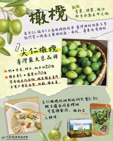 台灣「尖仁橄欖」含鈣量是香蕉20倍 專家揭初嚼澀中帶甘口感   ETto