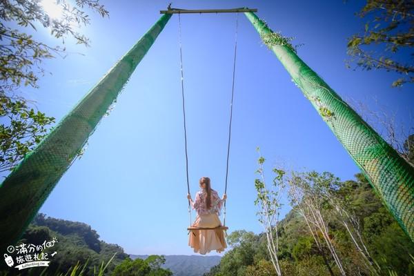 叢林高空鞦韆超刺激!苗栗最新夢幻精靈村 還有療癒小樹屋 | ETtoda