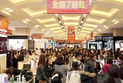 快訊/11月零售業營業額3524億元創新高 經濟部:全年可望正成長