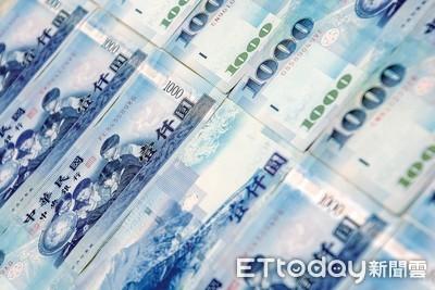 股匯雙挫!新台幣終場貶6.3分 收在27.785元