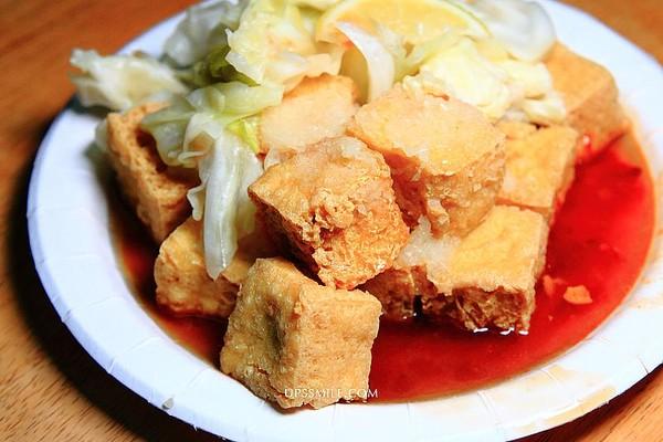 咬下噴秘方醬汁!永和無名素食臭豆腐 當歸湯麵線配料超有誠意 | ETto