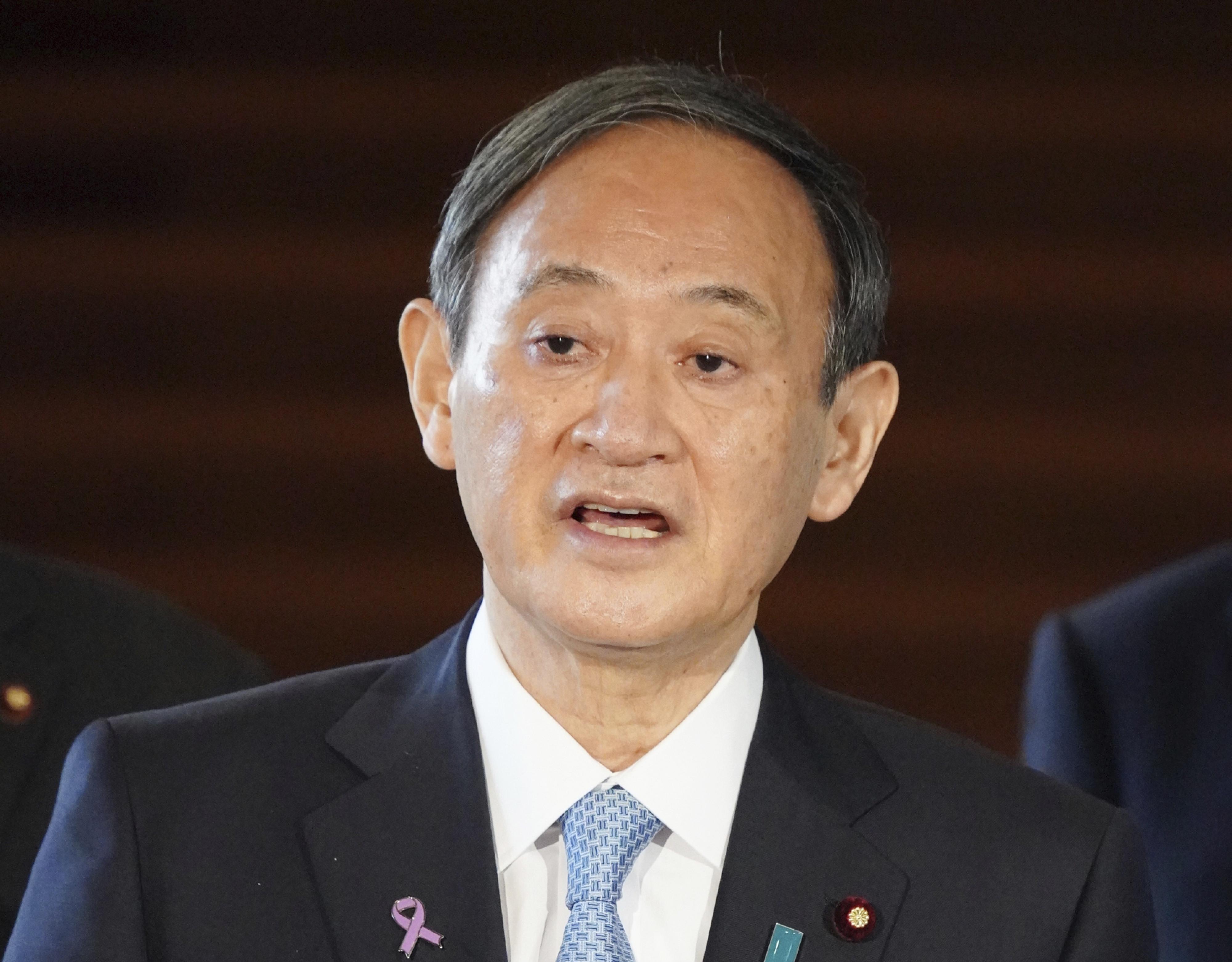 ▲▼日本首相菅義偉。(圖/達志影像)