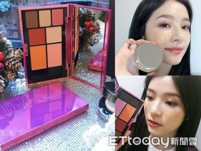 LUNASOL聖誕限定讓你「DIY彩妝組」 日本爆賣「水光氣墊粉霜」同步登場
