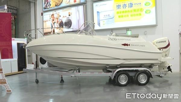 快訊/超狂!好市多北台中店「157萬9999元遊艇」…40歲男付現帶走