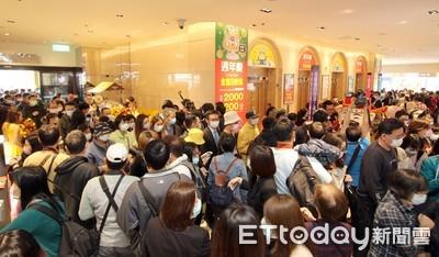 新光三越週年慶「台灣設計助攻」 站前店首日業績4.6億達陣