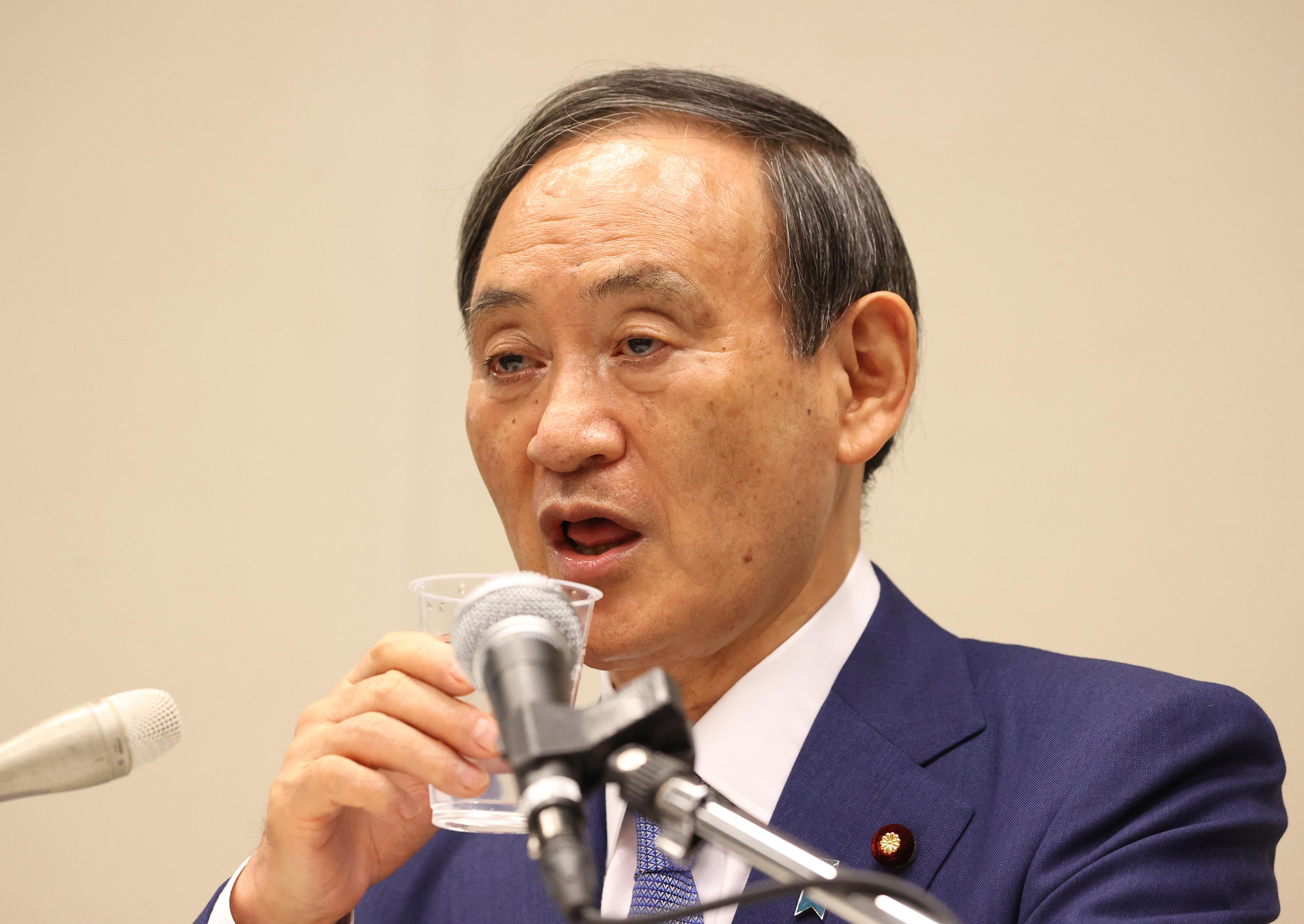 ▲▼日相菅義偉重申立場,表示若南韓未先提出解決對策,則無訪韓必要。(圖/達志影像)