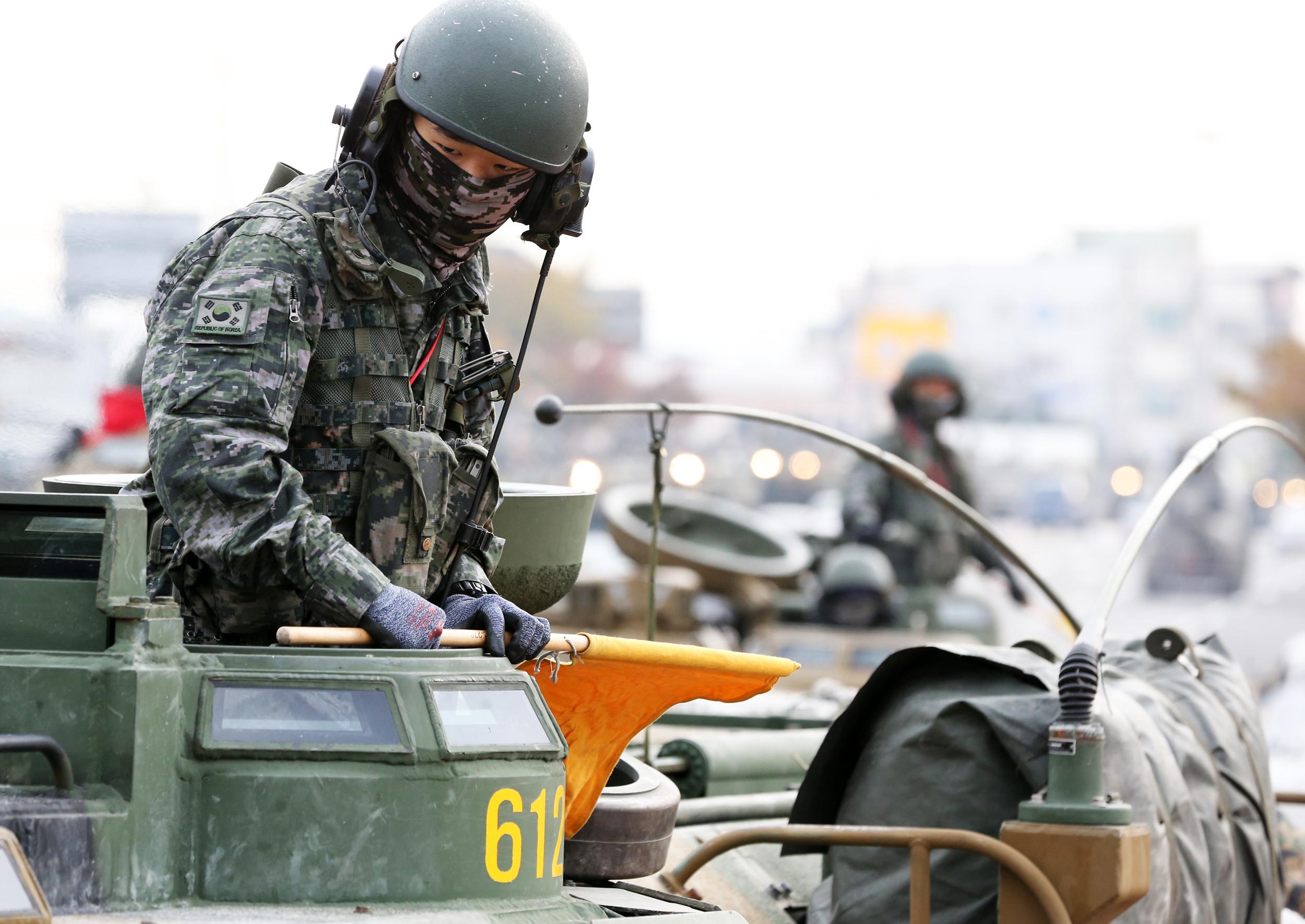 ▲▼南韓陸海空軍全淪陷,近期各傳出確診案例。(圖/達志影像)