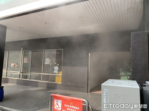 ▲▼台南麥當勞炸薯條起火。(圖/記者林悅翻攝)