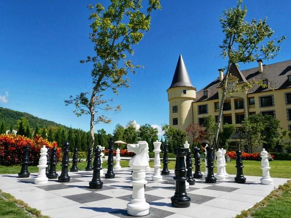美劇《后翼棄兵》超夯!台版迪士尼城堡打造全新「巨型西洋棋」造景